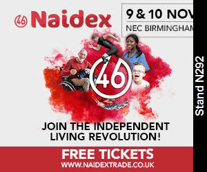 We're attending #Naidex46
